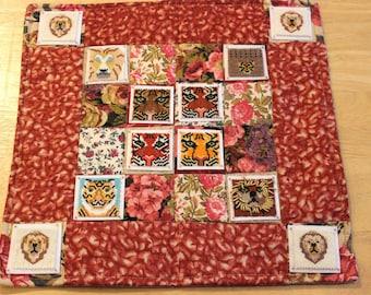 Bead-It-Forward Animal Themed Quilt Feline Frenzy BIF103