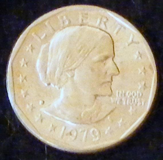 1979-D SUSAN B. ANTHONY Dollars