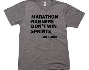 Marathon Runners Don't Win Sprints