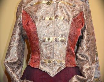 Ladies Steampunk Jacket
