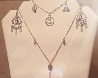 Zen Buddha silver adornment