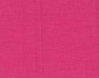Hanky Linen - Raspberry - 56 inch x 1/2yd