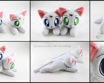 Artemis (Sailor Moon) beanie style plushie - made to order