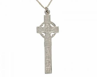 Celtic Cross Ardboe in Sterling Silver