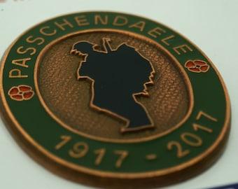 WW1 1917-2017 Battle Of Passchendaele Enamel Badge