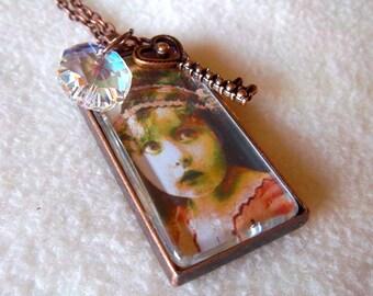 Ragamuffin necklace, Vintage Baby, No. 60