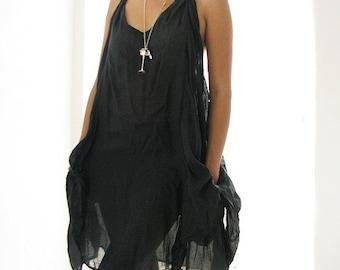30 USD Sale Mini dress  cotton mixed silk  M,L,XL,XXL (157)