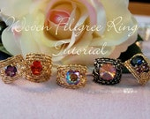 Wire Wrap Ring Tutorial, ...