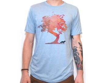 Fox Shirt | Men's T Shirts | Fox t shirt | graphic tees | Tshirts | Gifts for him | Tree | Tree shirt | Animal Shirt | Geometric |