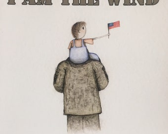 I am the wind - Signed by Author  Illustrator