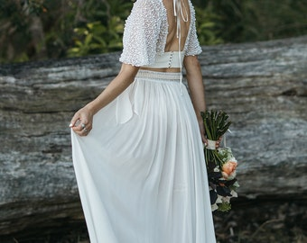 Under Your Spell 2PC wedding gown
