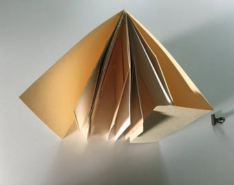 Assorted Papers File Folder Art Journal