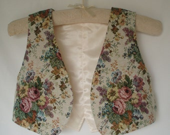Child's Bolero-style Tapestry Vest