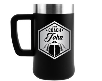 Football coach gift, Coaches gift, Football, Football gifts, Football Mom, Tumbler, 21oz tumbler, Insulated tumbler, 21oz mug, 21oz cup