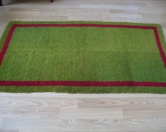 free shipping VINTAGE TURKİSH shaggy Anatolian  handwoven kilim rug  decorative kilim - SİZE : 40'' X 74'' (100 cm X 184 cm)