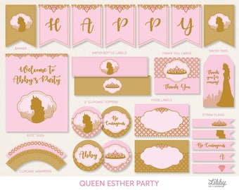 Queen esther Etsy