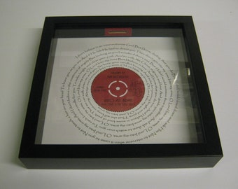 Nick Cave & The Bad Seeds - Into My Arms - Wooden Framed Money Box Gift