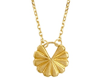 Chain, necklace, gold necklace, pendant, necklace with pendant, geometric jewelry, designer necklace, minimalist jewelry,