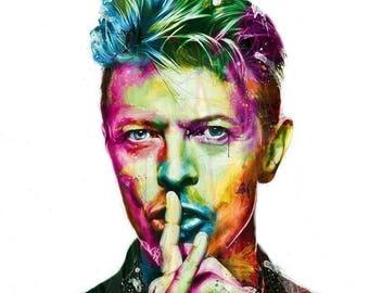 David Bowie Vintage Image T-shirt