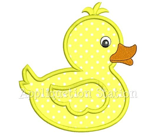 Free Machine Embroidery Applique Duck Designs