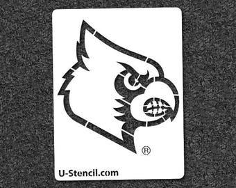 University of Louisville Louie – Mini Stencil