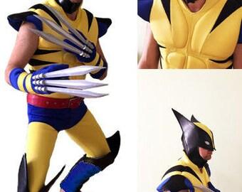 Wolverine X-Men cosplay costume