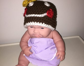 Gingerbread Girl Baby Hat
