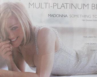 Madonna   Something To Remember  Multi-Platinum Blonde Poster