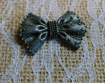 Gunmetal Decorative Bow