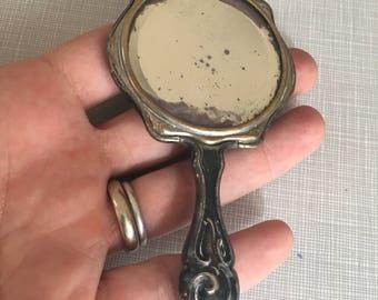 Cool Old Miniarure Make-Up Mirror