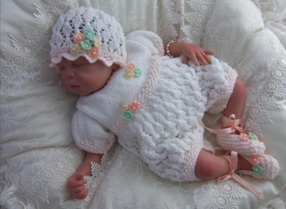 Baby Girls Knitting Pattern Download Pdf Knitting Pattern