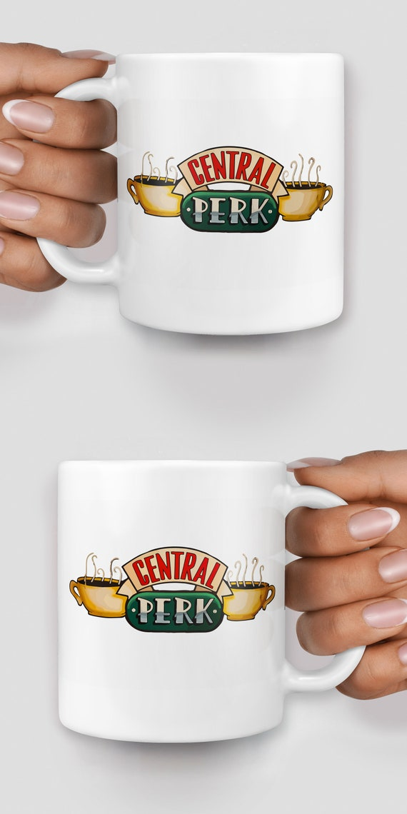 Central Perk Friends mug - Christmas mug - Funny mug - Rude mug - Mug cup 4P111