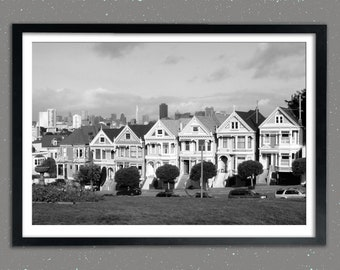 "The Painted Ladies - ""Postcard Row"" in San Francisco"