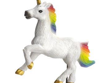Miniature Garden - Galloping Unicorn - Miniature Fairy Garden Supplies