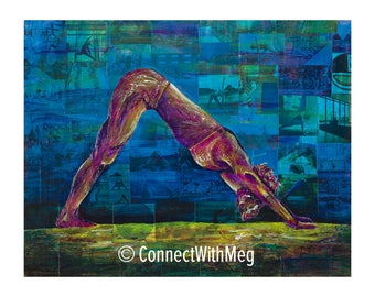 Facing Earthward (11 x 14) Connect With Yoga Series