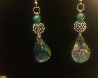 Mermaid ocean Earrings