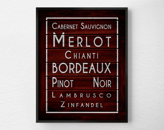 Wein Kunstdruck Wein Küche Druck Küche Dekor Küchenkunst