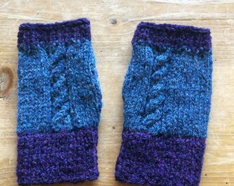 Fingerless Gloves-soft and warm