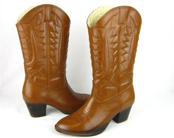 Vintage Rain Galoshes Western Boots, Cowgirl Cool, New Old Stock