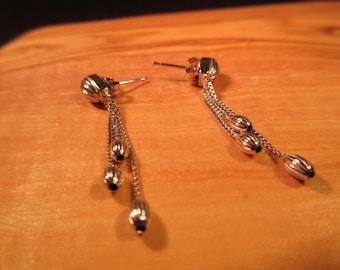 Delicate Sterling Silver Earrings