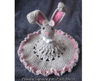 """PDF Pattern Crochet """"Doudou Lapinou"""""""