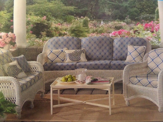 REPLACEMENT CUSHION Pattern • Simplicity 2877 • Chair Slipcover ...