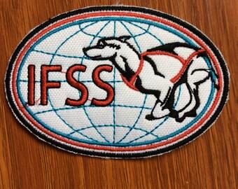 Patch International Federation Sleddog Sports - Sled dog race - sledding
