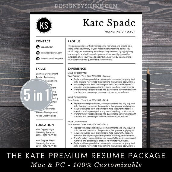 free cover letter and resume template