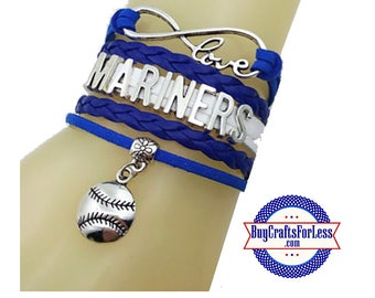 SEATTLE Leather Bracelet-U Choose CHARM +Discounts & FREE Shipping*