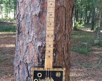 Cigar box guitar - 3 String electric