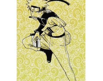 Naruto Uzumaki Print