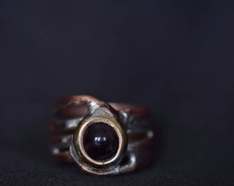 Amethyst Wizard Ring