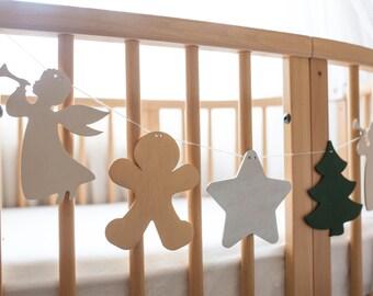 Christmas Garland - New Year Decor - Christmas party decoration - Traditional Christmas Decoration Traditional decorations  Christmas Banner