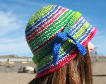 CROCHET PATTERN: Singular, a Crochet Hat Pattern for Women